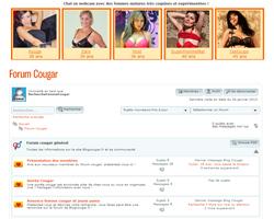Le forum des pumas et des femmes cougars